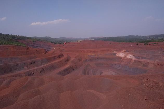 One of the iron ore mines in Keonjhar district. Photo by Bikashkumargiri1997